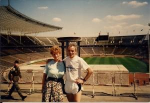 Ruth und Peter Olympiastadion