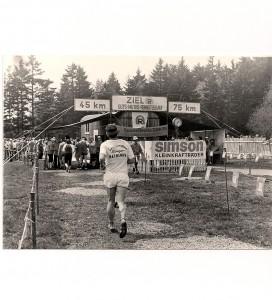 Das Ziel Rennsteiglauf