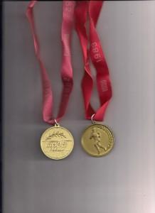 Veteranenmarathon klein Medaillen
