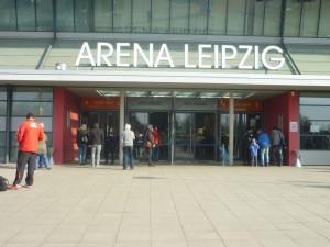 Leipzig 219 klein Arena Eingang