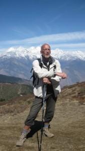 Dietmar klein auf dem Gipfel