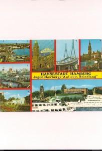 Hamburg klein Landungsbrücken Jugendherberge