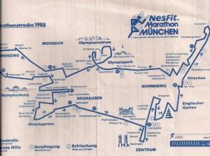 München Marathon 1988