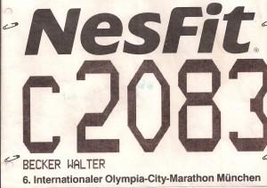 München Marathon 1988 (4)