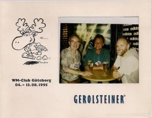 WM 1995 Göteborg