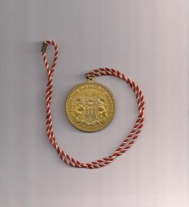 Hamburg 1 klein Medaille