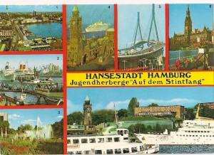 Hamburg klein klein Landungsbrücken