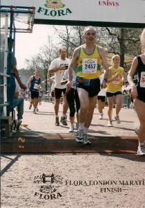 London-Marathon klein Ziel ohne Zeit