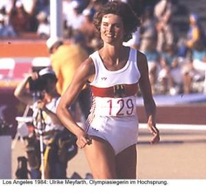 Ulrike Meyfarth klein 1984 Los Angeles Gustav Schröder