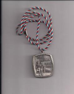 Berlin 25 km 1990 Medaille
