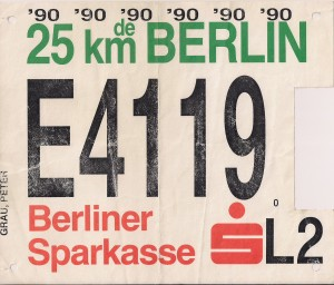 Berlin 25 km 1990