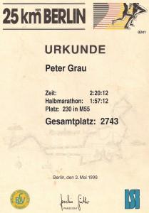 Berlin 25 km 1998