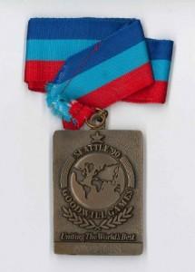 Bernd Medaillen klein Seatllte 1990 Bronze