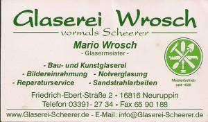 Glaserei Wrosch