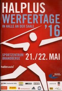 Halle Werfertage 2016 Programm
