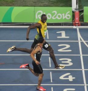 Bolt Semi 200 m Zwiegespräch