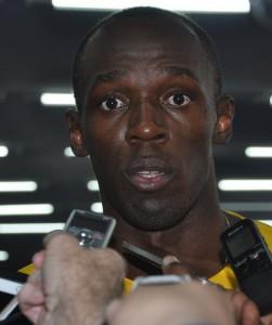 Bolt wieder Mixedzoneexezone