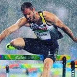 Matthias Bühler im Regenvorlafu von Rio