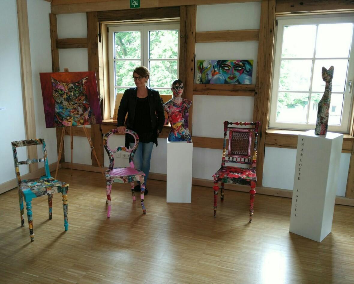Charlotte Sailer Die Kunst Alte Stühle Zum Leben Zu Erwecken