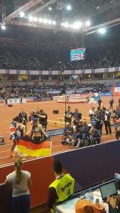 Yvette elf Spanovic nach Sieg