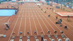 Yvette fünf Belgrad Start Hürden