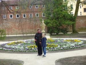 Tempelgarten vier