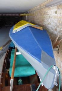 Faltboot eins Bootshaus