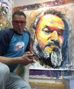 Lomax fünf Maler und Selbstpot