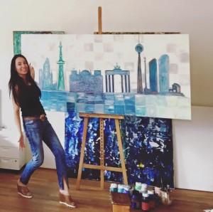 Nicoleta achtundzwanzig Porträt