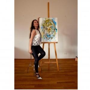 Nicoleta drei Porträt