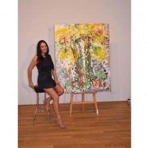 Nicoleta vier Porträt