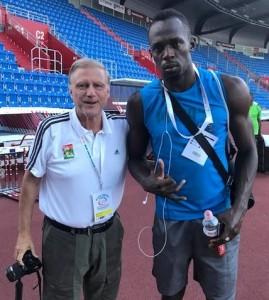 Bolt Ostrava 2017 siebzehn Olaf und Usain