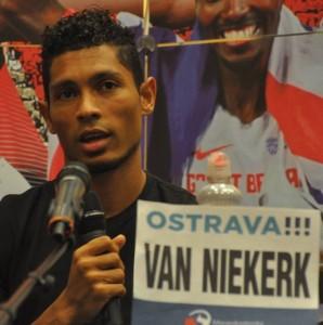 Ostrava acht van Niekerk