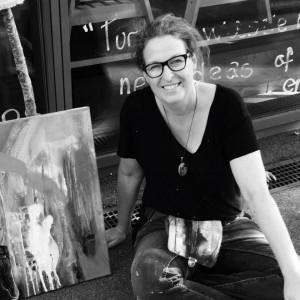 Stefanie Seiler vierzehn Porträt sw