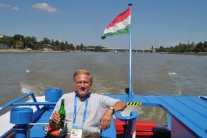 Buda füfnzehn Olaf auf der Donau