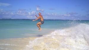 Ronny Oswald und das Meer zwei