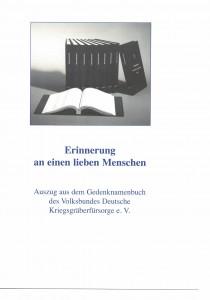 Walter Gedenknamenbuch