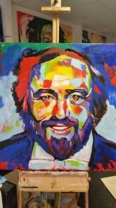 Rico Weißflog einundvierzig Pavarotti