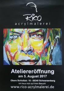 Rico Weißflog sechsunddreißig Eröffnung