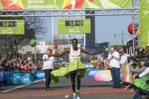 Berliner Halbmarathon 2018 Kiptanui