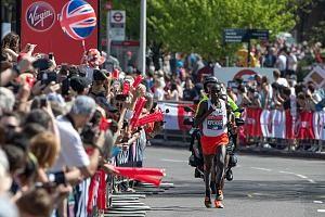 Kipchoge auf dem Weg zum Sieg in London 2018