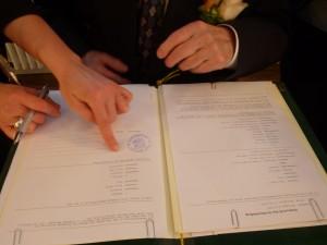 Hochzeit fünfunddreißig